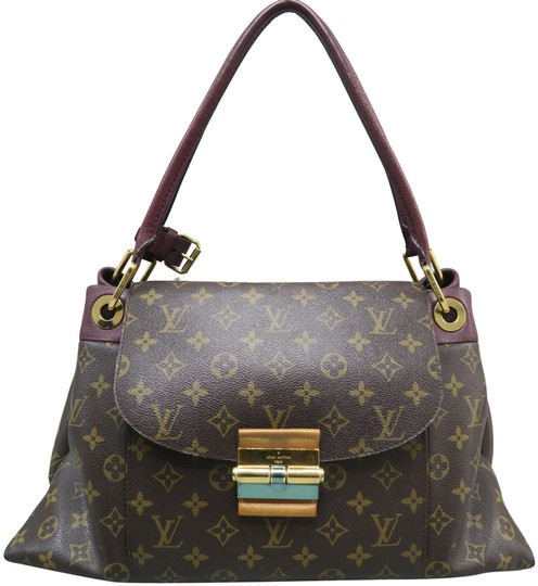 f5b70a55c488 Louis Vuitton Olympe Monogram Mm Brown Canvas Shoulder Bag - Tradesy