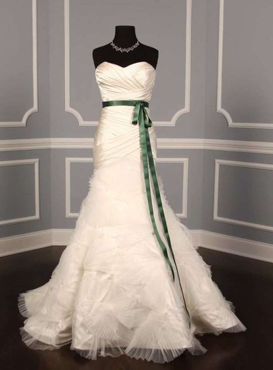 Pistachio Green Ribbon Sash