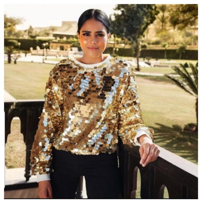 Item - Limited Edition Sequin (0021) Gold Sweater