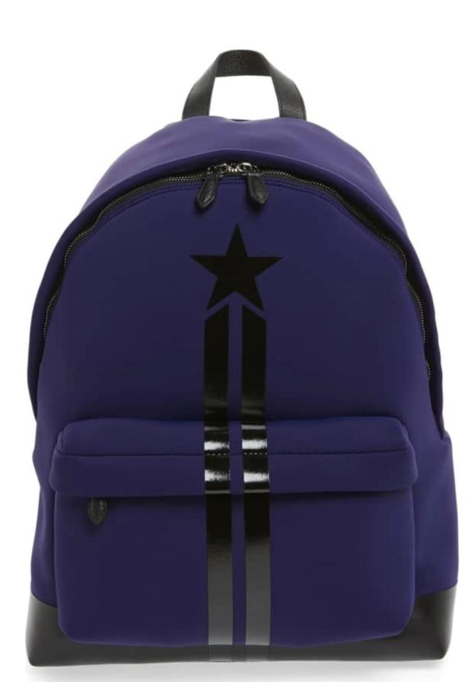 d3bbe4ce0c9 Givenchy Neoprene and Leather Star Backpack - Tradesy