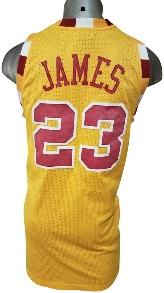 huge selection of 67a8c 5237a Reebok Yellow Jersey XL Nba Cleveland Cavaliers Lebron James 23 Tank  Top/Cami Size 20 (Plus 1x)