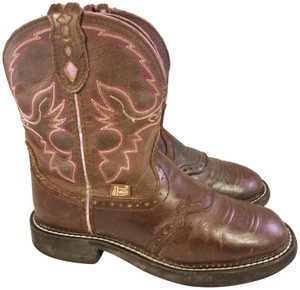 JUSTIN Gypsy Ariat Lucchese Dan Post Old Gringo BROWN Boots