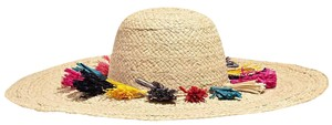 Mar Y Sol Paloma Multi-Colored Tassel Sun Hat