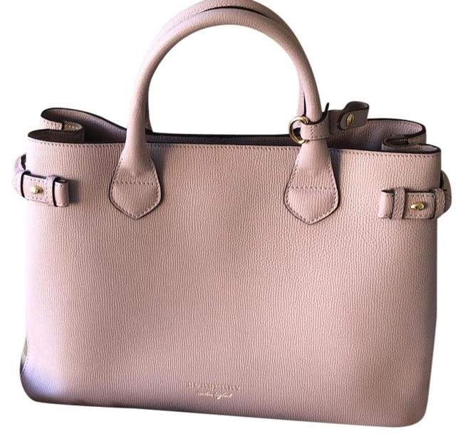 Item - Banner Pink. Pale Orchid Leather Tote