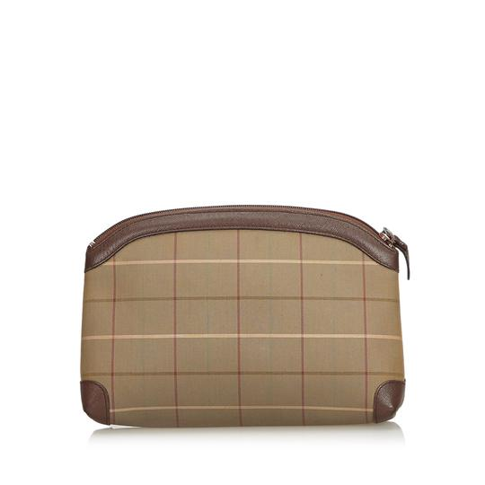 Burberry 9bbupo001 Vintage Wristlet in Brown