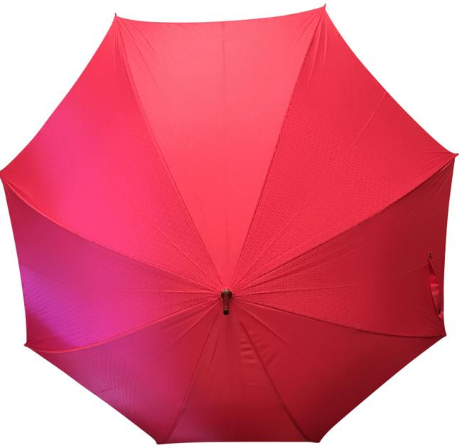 Item - Pink/Magenta New Logomania Zucca Ff Logo Monogram Umbrella