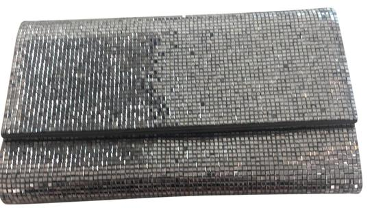 Judith Leiber Couture silver Clutch