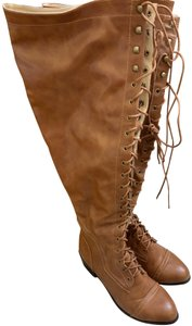Payless Thigh High Brown Boots