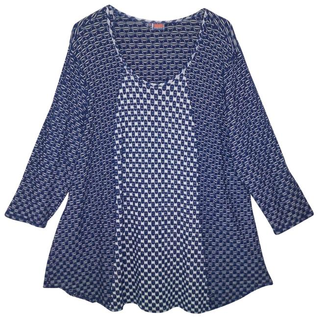 Preload https://img-static.tradesy.com/item/25042104/tianello-blue-koi-tee-tunic-size-22-plus-2x-0-1-650-650.jpg