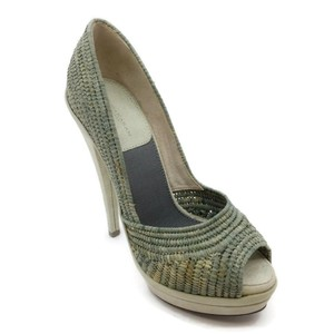 Donna Karan Green Pumps