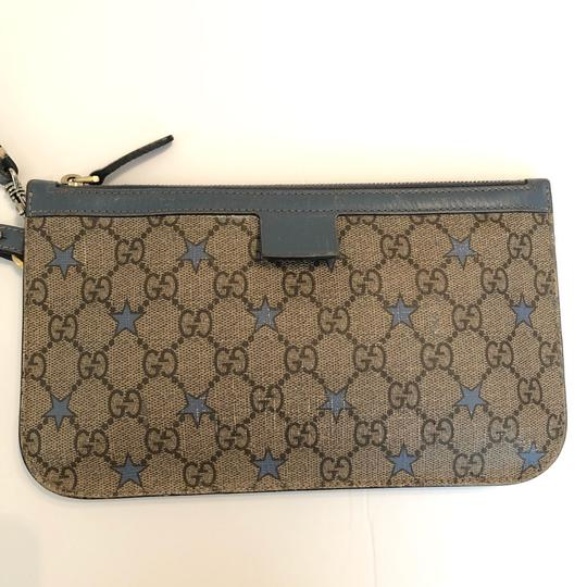 Gucci Wristlet in light blue