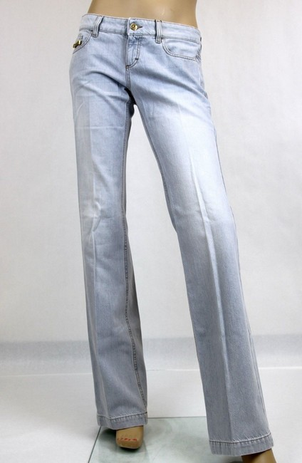 Gucci Washed Denim 70's Flare Leg Jeans