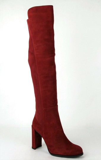 Preload https://img-static.tradesy.com/item/25042239/stuart-weitzman-scarlet-red-women-s-alljill-suede-over-the-knee-5m-bootsbooties-size-us-5-regular-m-0-0-540-540.jpg