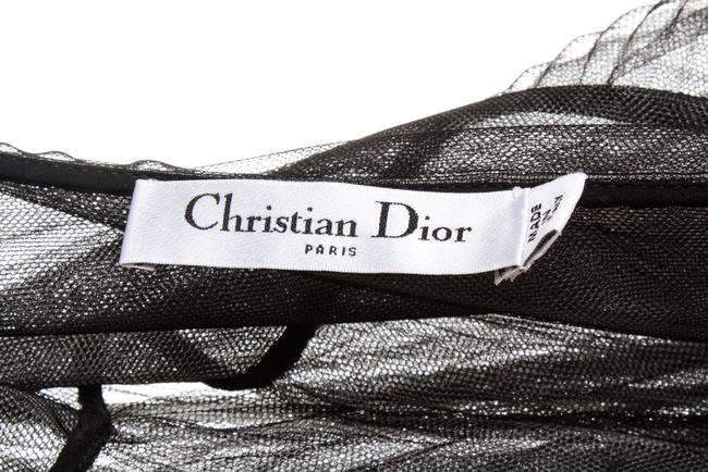 Dior Christian Maxi Skirt Black and White