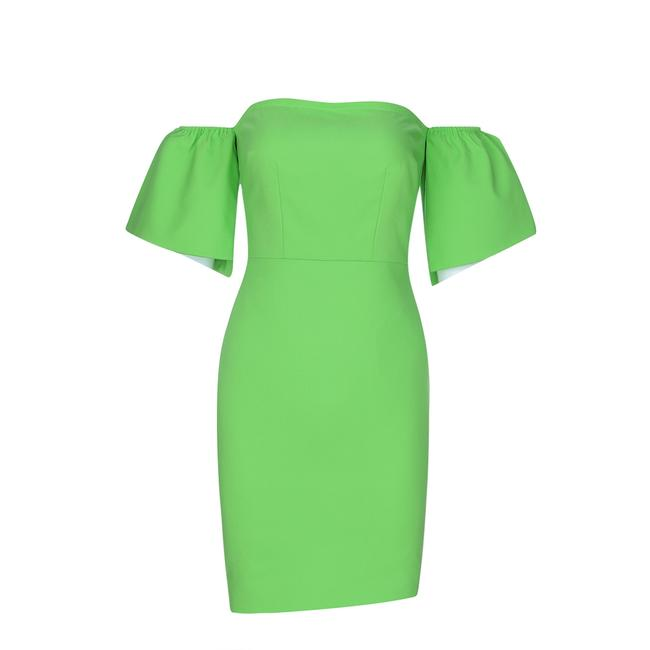 Preload https://img-static.tradesy.com/item/25042368/dior-bella-apple-green-off-shoulder-bodycon-mini-short-cocktail-dress-size-8-m-0-0-650-650.jpg