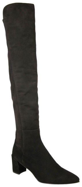 Item - Dark Brown Cola Suede Allwayhunk Over-the-knee 9w/39.5 Boots/Booties Size US 9 Wide (C, D)