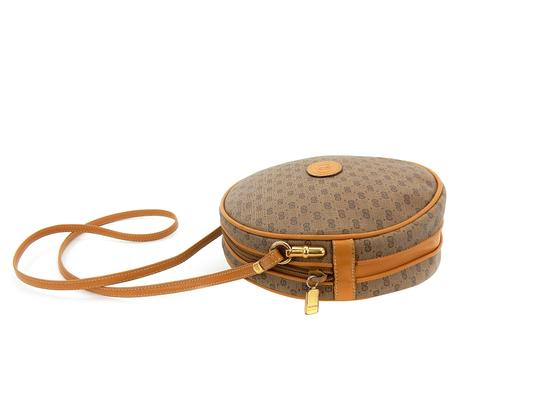 Gucci Round Micro Italy Vintage Gg Cross Body Bag