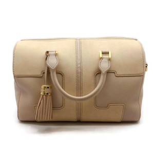 Tory Burch Satchel in Blush / Beige