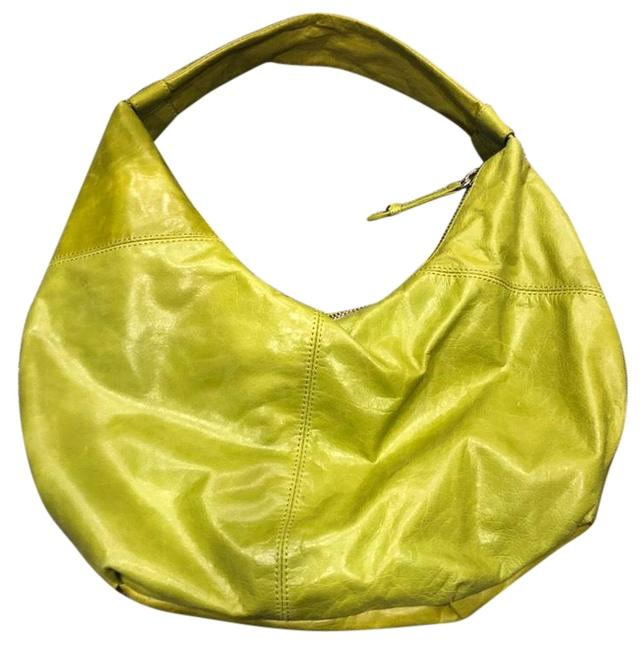 Item - The Green Leather  Bag