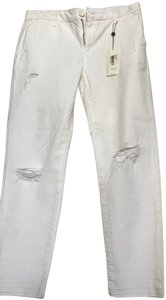 AG Trouser/Wide Leg Jeans-Distressed