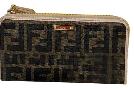 tan-and-black-wallet by fendi