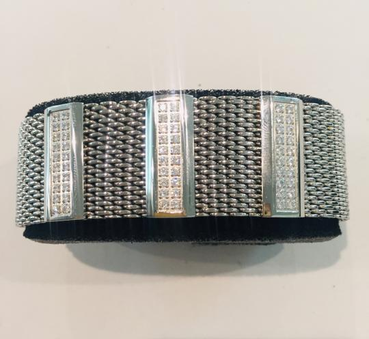 Zoppini Firenze Zoppini Firenze Bracelet silver with three rows of Cubic Zirconias Image 1