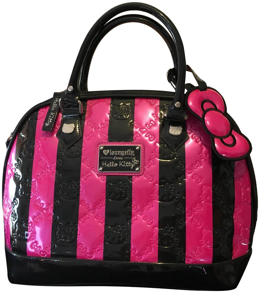5d9073cf7 Loungefly Hello Kitty Embossed Limited Edition Pink and Black Pvc ...
