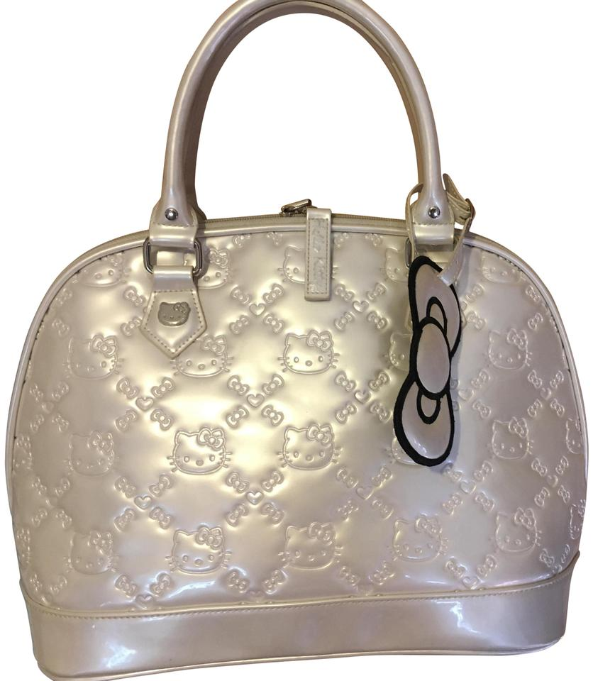 a44d7d989 Loungefly Hello Kitty Embossed White Pvc Satchel - Tradesy
