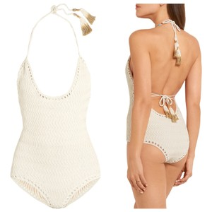 SHE MADE ME Laharia Crochet One Piece Swimsuit S/M