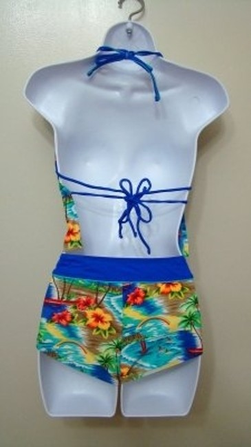 Other Down The Shore Multi Color 2 Piece Floral Tropical