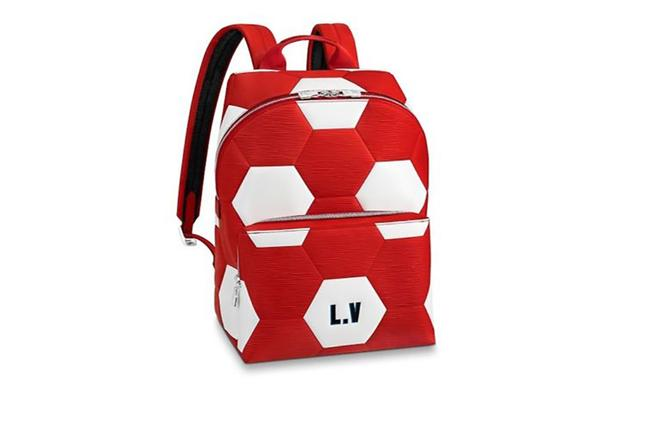 Item - Fifa World Cup Apollo Epi Red White Leather Backpack