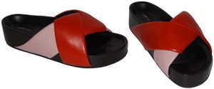 Céline RED AND PINK Sandals