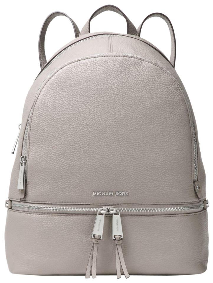 eac8b7d84899 Michael Kors Rhea Zip Large School Travel(New with Tags) Steel Grey ...