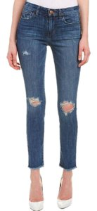 JOE'S Jeans Cotton Spandex Cropped Skinny Jeans-Distressed