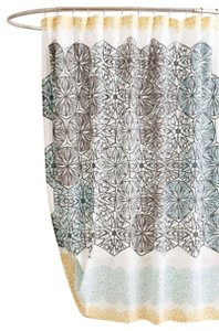 Anthropologie Multicolor Kaleidoscope Patch Shower Curtain Other