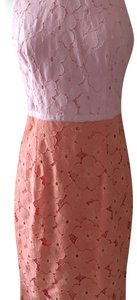 Maggy London short dress Light pink and peach on Tradesy