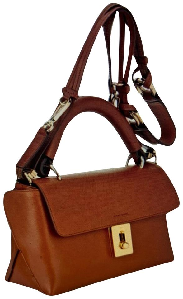 031c0e195d7c Chloé Fedora Tan-brown Calf Leather Satchel - Tradesy
