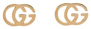 Gucci Gucci Gold GG Tissue Stud Earrings