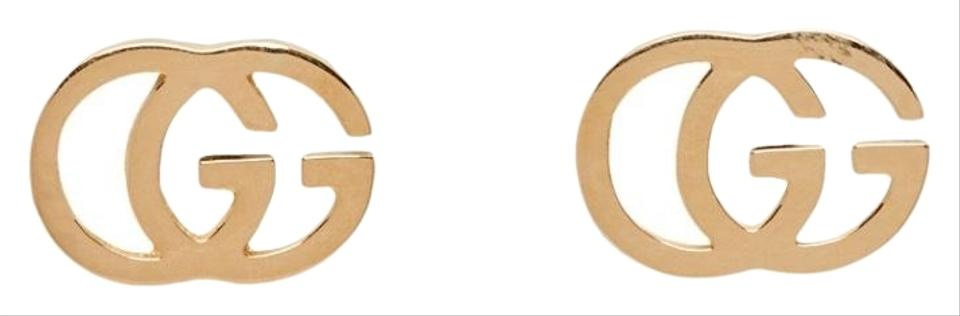 2f80722398802f Gucci Gucci Gold GG Tissue Stud Earrings Image 0 ...