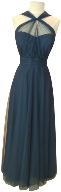 Item - Sophia Blue Style # 4516 Long Formal Dress Size 10 (M)