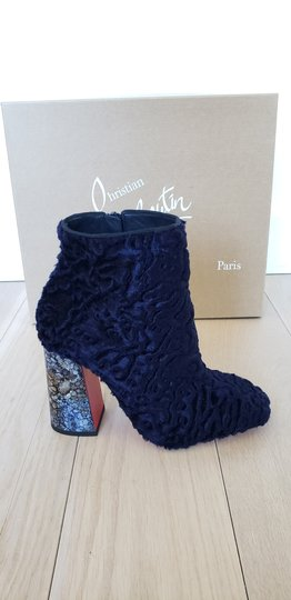 Christian Louboutin Navy Boots Image 2