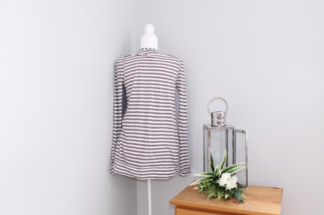 Joie Casual Striped Pockets Cardigan Image 5