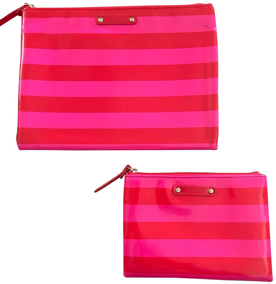 superior quality c56ce 02341 Kate Spade Red/Pink Tablet and Passport Cases Tech Accessory