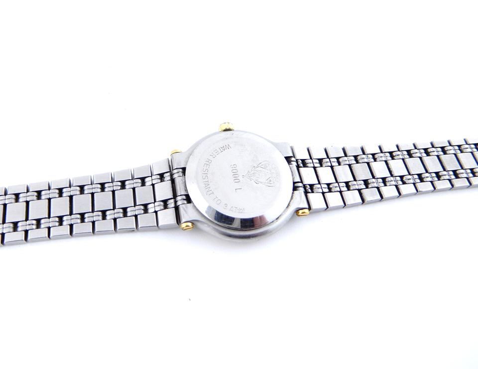 983650a4fef Gucci 9000L Two-Tone Gold Stainless Steel Vintage Ladies Watch Image 9.  12345678910