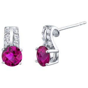 Other Ruby Arc Earrings