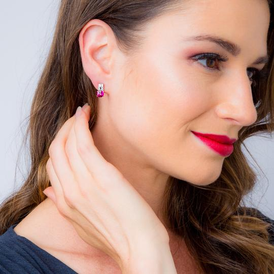 Other Ruby Arc Earrings Image 1