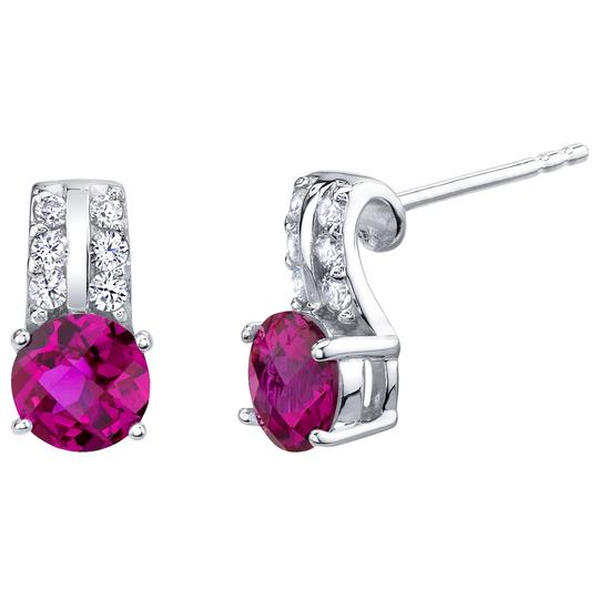 Other Ruby Arc Earrings Image 2