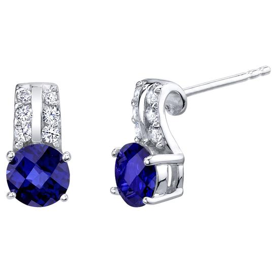 Other Sapphire Arc Studs Image 2