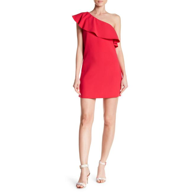 Preload https://img-static.tradesy.com/item/25047787/french-connection-red-ruffle-one-shoulder-short-casual-dress-size-2-xs-0-0-650-650.jpg