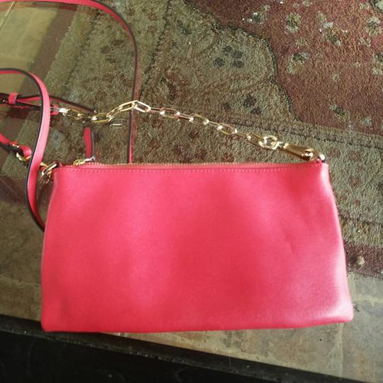 Coach Leather Gold Cross Body Bag Image 4